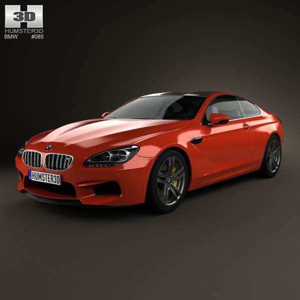 BMW M6 Coupe (F13) 2013 3d car model