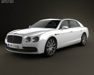 3D model of Bentley Flying Spur 2014