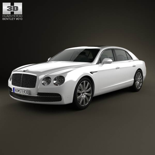 Bentley Flying Spur 2014 3d car model