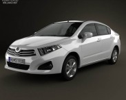 3D model of Brilliance H230 2012