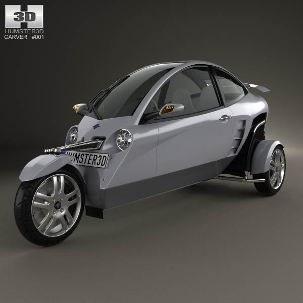 Carver One 2007 3d car model