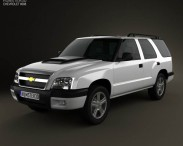 3D model of Chevrolet Blazer (BR) 2008