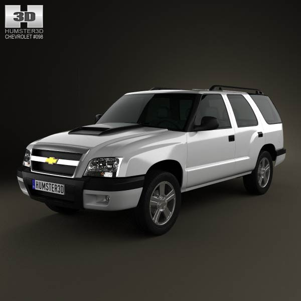 Chevrolet Blazer (BR) 2008 3d car model