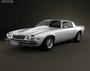3D model of Chevrolet Camaro 1974
