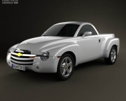 3D model of Chevrolet SSR 2003