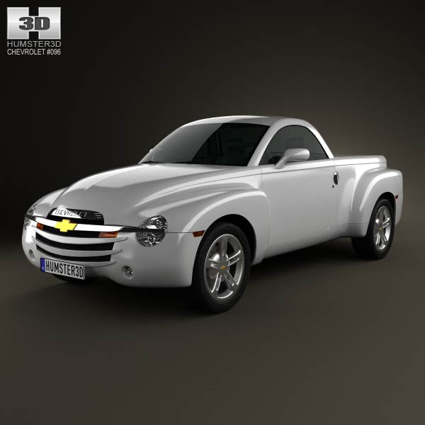 Chevrolet SSR 2003 3d car model
