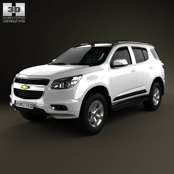 Chevrolet Trailblazer 2012 3d car model
