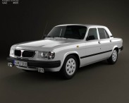 3D model of GAZ 3110 Volga 2004