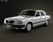 3D model of GAZ 3110 Volga 2004