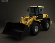 3D model of Hyundai HL757-9S Wheel Loader 2012