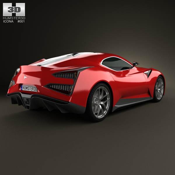 Icona Vulcano 2013 3d model