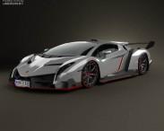 3D model of Lamborghini Veneno 2013