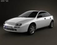 3D model of Mazda 323 (Familia) 1994