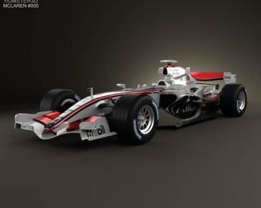 3D model of McLaren MP4-21 2006