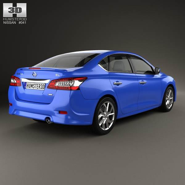 Nissan Sentra SR 2013 3d model