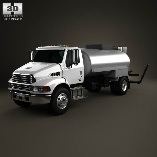 Sterling Acterra Etnyre Asphalt Distributor Truck 2009 3d car model
