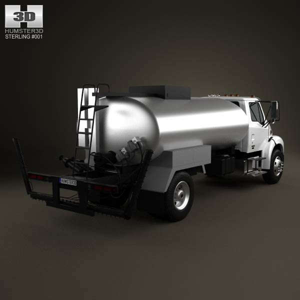 Sterling Acterra Etnyre Asphalt Distributor Truck 2009 3d model