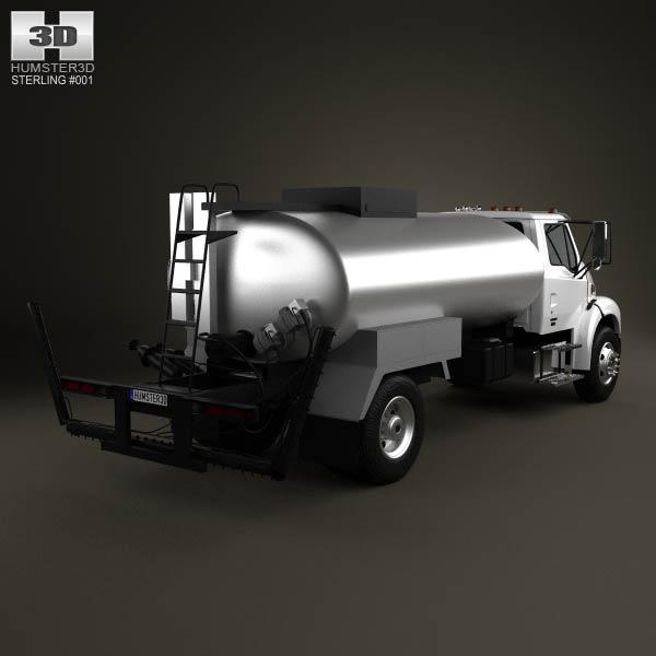 Sterling Acterra Etnyre Asphalt Distributor Truck 2009 3d model