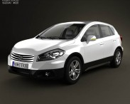 3D model of Suzuki SX4 2014