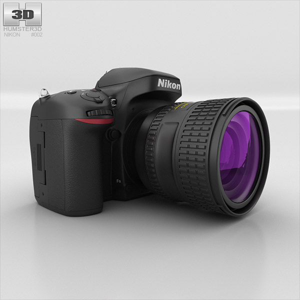 Nikon D600 3d model