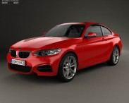 3D model of BMW M235i coupe (F22) 2014