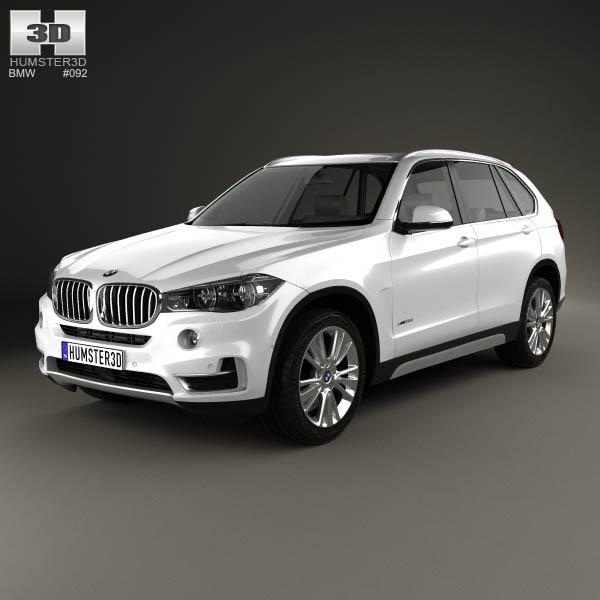 BMW X5 (F15) 2014 3d car model
