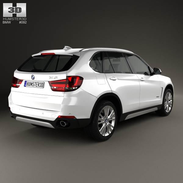 BMW X5 (F15) 2014 3d model