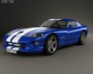 3D model of Dodge Viper GTS 1998