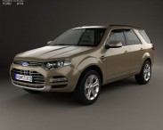 3D model of Ford Territory 2012