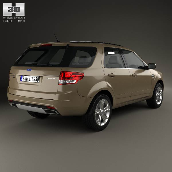 Ford Territory 2012 3d model