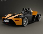 3D model of KTM X-Bow 2012