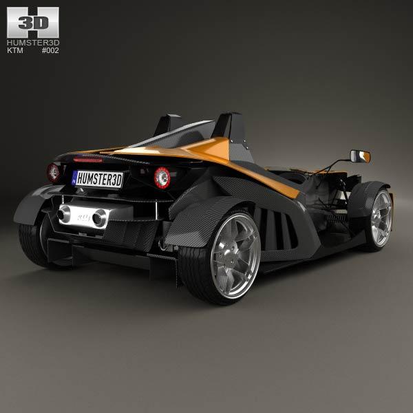 KTM X-Bow 2012 3d model