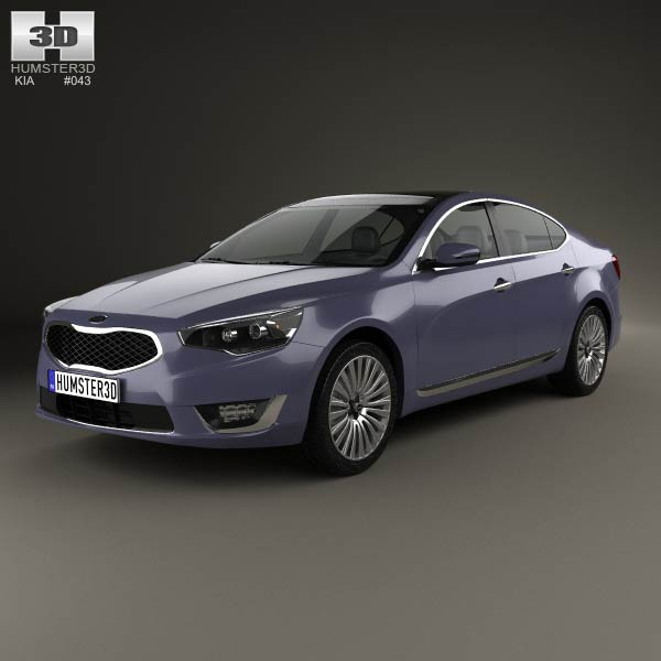 Kia Cadenza (K7) 2014 3d car model