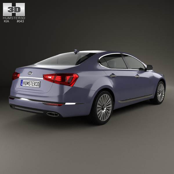 Kia Cadenza (K7) 2014 3d model