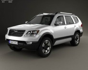 3D model of Kia Mohave (Borrego) HM 2012