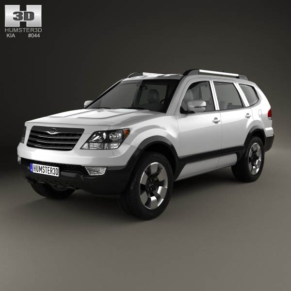 Kia Mohave (Borrego) HM 2012 3d car model