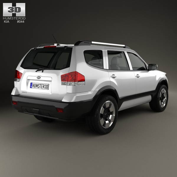 Kia Mohave (Borrego) HM 2012 3d model