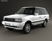 3D model of Land Rover Range Rover 1998
