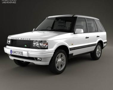 3D model of Land Rover Range Rover 1998