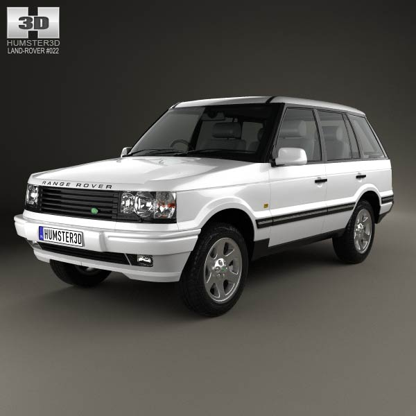land rover range rover 1998 3d model humster3d. Black Bedroom Furniture Sets. Home Design Ideas