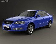 3D model of Nissan Almera (B10) Classic 2012