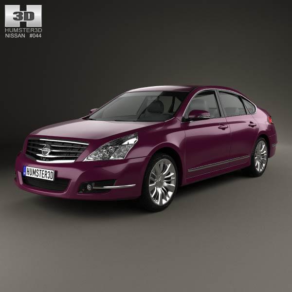 Nissan Teana (J32) 2012 3d car model