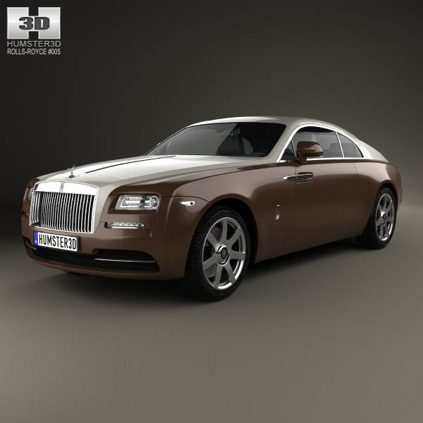 Rolls-Royce Wraith 2014 3d car model