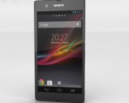 3D model of Sony Xperia Z