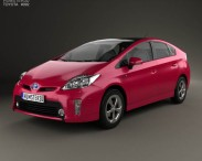 3D model of Toyota Prius (XW30) 2012