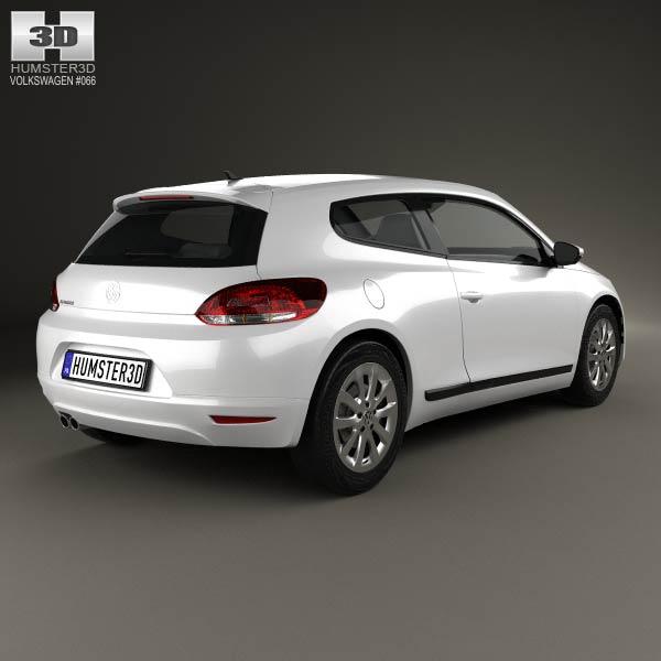 Volkswagen Scirocco 2012 3d model