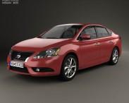 3D model of Nissan Pulsar (Sentra) 2014