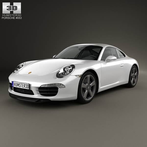Porsche 911 (991) Carrera 50th Anniversary Edition 2013 3d car model