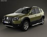 3D model of Renault Duster (BR) 2013