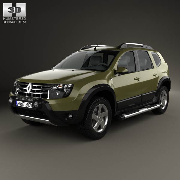 Renault Duster (BR) 2013 3d car model